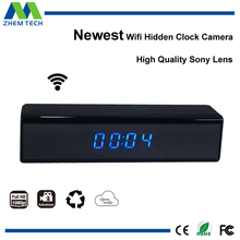 New Motion Detection Desk Clock 1080p High Resolution Wireless Spy Camera