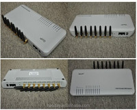 Hot sales! GSM Gateway GoIP VoIP Gateway 8 Channels GoIP-8 Provide eight cellular channels for IP-PBX