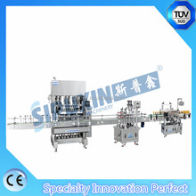 Sipuxin Automatic Liquid Soap Detergent/Washing Liquid Filling Machine with auto capping machine
