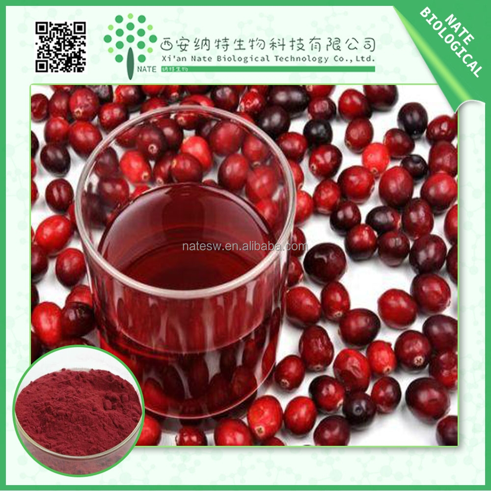 Factory supplier low price cranberry extract/free sample cranberry juice extract/bilberry fruit powder
