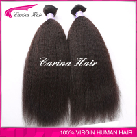 Wholesale price no tangle no shedding 100% Human Hair Cheap Brazilian Virgin Hair crochet braids with human hair