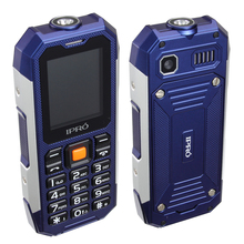 "IPRO Shark 2.0"" TFT 176*220 2G Three proofing feature phone factory unlocked cell phones wholesale with 2500mAh battery"