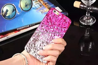 New in market strong protect rainbow color tinfoil effect phone case cover for iphone 6/6s
