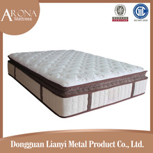 Health care high quality and super soft pocket spring mattress pillow top spring mattress spring mattress