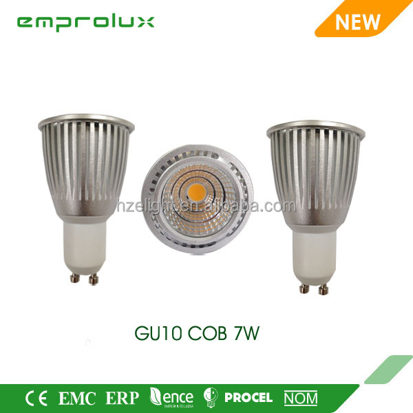 5w 7w 9w cob spotlight gu10 led bulb energy star lamp