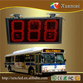 888 under 6inch size numbers controlling by buttons LED bus route number sign