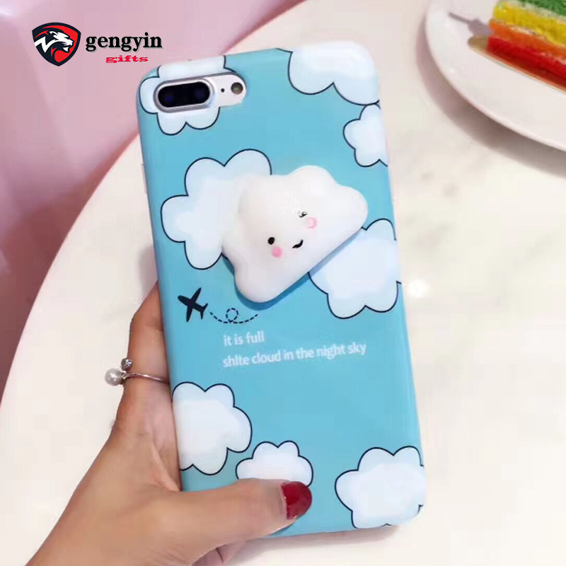 Promotional gift mobile phone accessory 3d silicone phone case