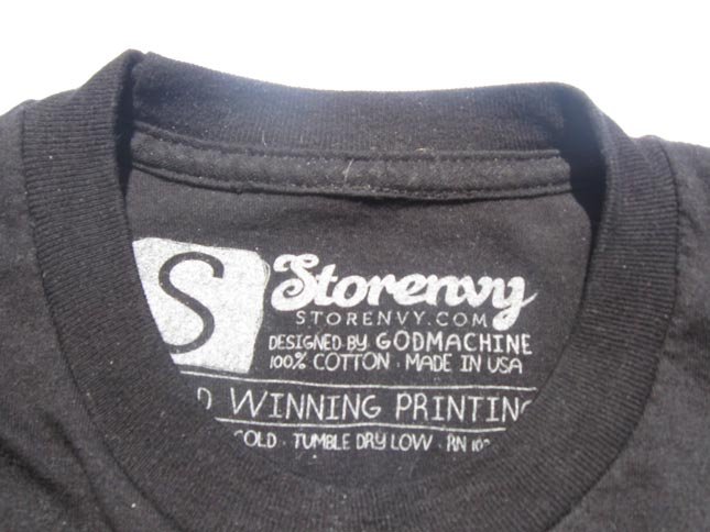 Custom iron on neck label tags for t shirt
