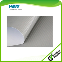2015 hot selling Eco Solvent Media WER pvc flex banner roll