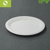 100% Biodegradable Sugarcane Bagasse Food Packaging, Dinnerware, Tableware