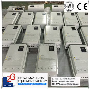 50KW IGBT High Frequency Electromagnetic Induction Heater for oil/gas/water