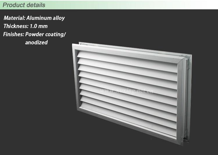 Quality Products Hvac Aluminium Door Vents For Interior & Ventilation Doors - Sanfranciscolife