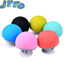 2017 fashionable Christmas gifts mushroom usb speaker portable bluetooth speaker