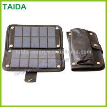 Phone Charger Kit Mobile Solar Panel Battery Charger Case with Lighting Function