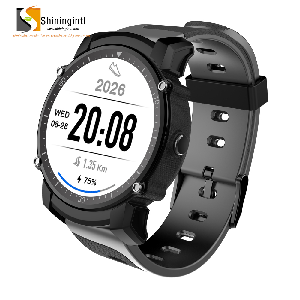 low power outdoor sports band GPS trace changeable fitness tracker stylish Altimeter MT2503 waterproof bluetooth smart watch