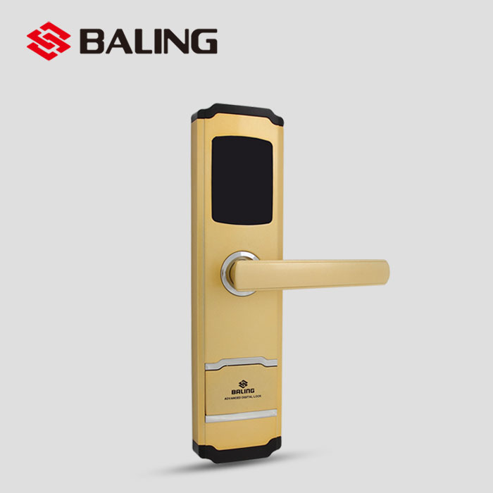 BALING RF-207 Zinc Alloy Security FRID Keyles Swipe Digital Electronic Smart Card Key Reader Hotel Door Lock System