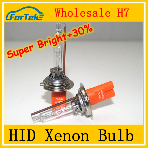 high quality auto accessory H7 hid xenon light HID bulb super bright