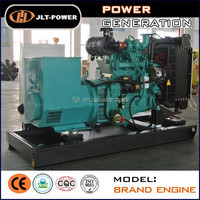 Quality service!50Hz open frame/silent canopy diesel power generator set 20kva to 500kva