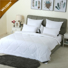 China wholesale cheap white patchwork luxury cotton fabric thick bed quilt hotel microfiber summer quilt