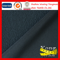 2014 huzhou polyester one side brushed velvet fabric for garment,fashion clothes,sportswear