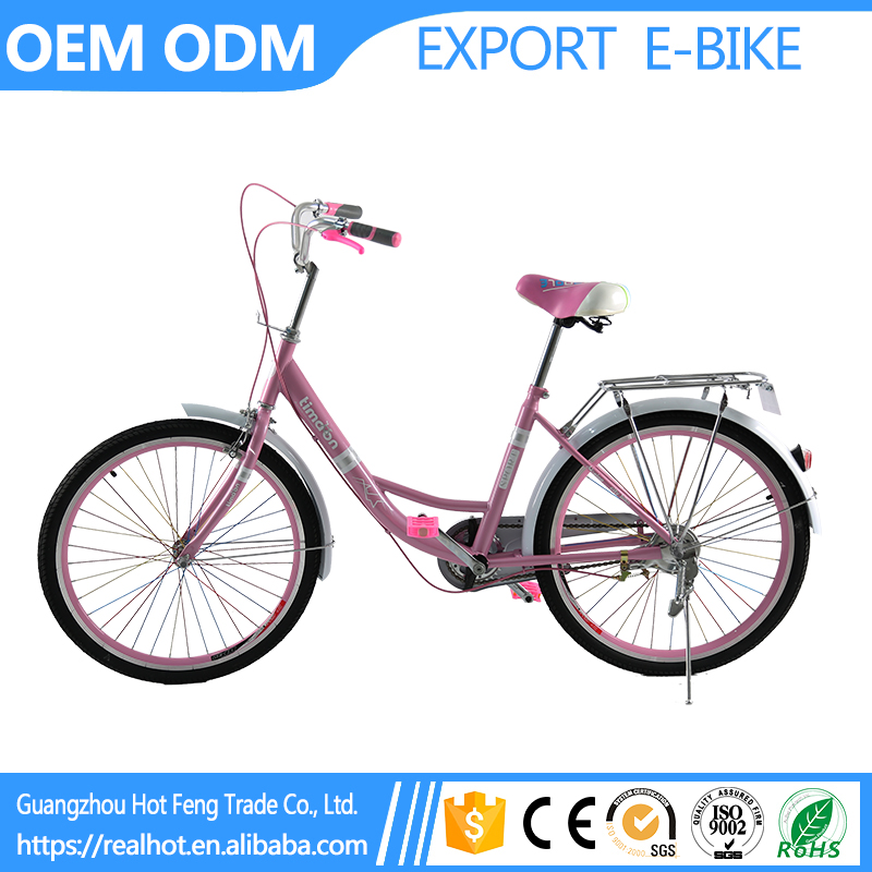 Cheap 24 inch Lady Easy Control High Quality City Road FActory Wholesale raleigh bicycle india