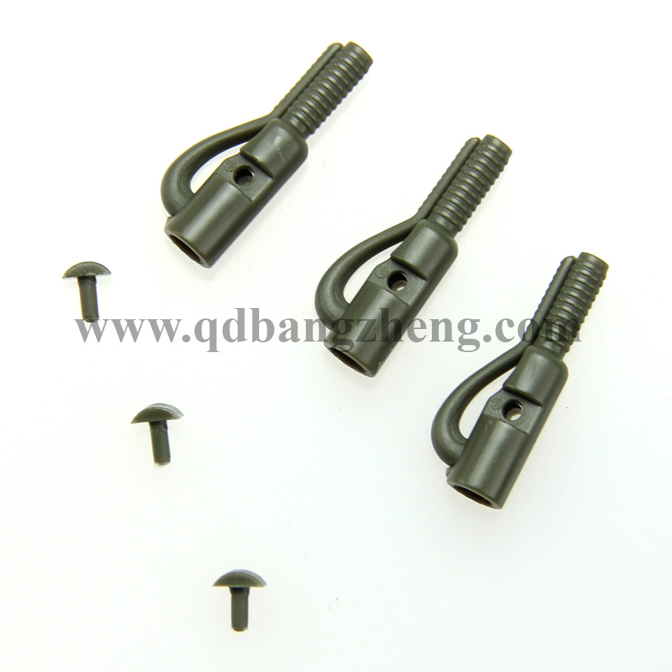 wholesale quality carp fishing tools carp fishing safety lead clips with pin