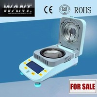Halogen heating digital moisture measurement equipment