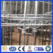 high quality and hot dale ISO9001:2008 factory cross Lock High Tensile farm Fence