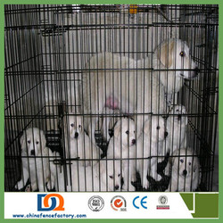 "19"" 24"" 30"" 36"" 42"" 48"" Dog Cage Crate Kennel Pet Cat Metal Folding Portable Puppy Carrier Tray Home"