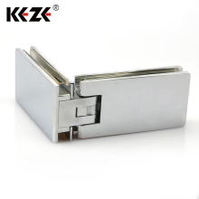 Hardware Product Soft Close 90 Degree Hinge For Sauna Glass Door