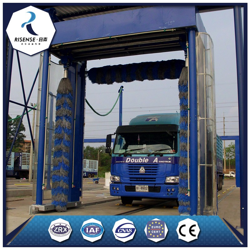 Automatic bus truck washing machine for bus wash business