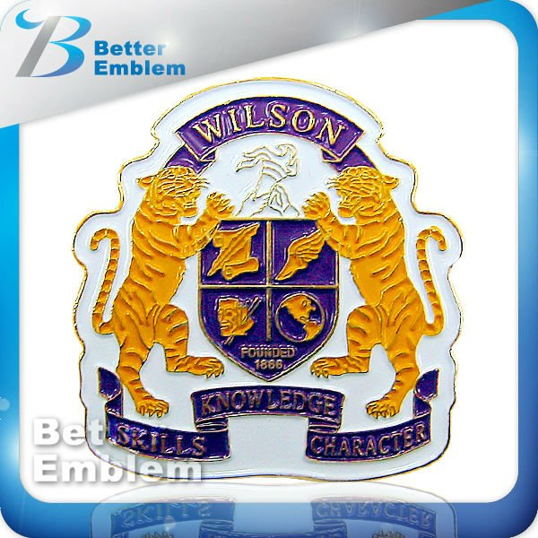Metal Emblem Lions Club Lapel Pins