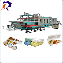 European configuration automatic disposable food container production line