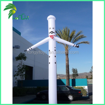 Inflatable Advertising Cook Air Dancer , Chef Sky Dancer For Sale