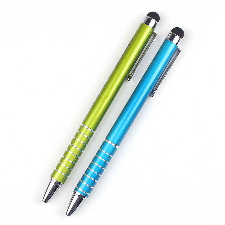 best selling cheap corporate gift stylus touch pen with rotation type metal