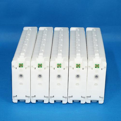 5 EMPTY Refillable ink cartridge (700ml) for EPSON Sure color T3270D/T5270D/T7270D with ARC