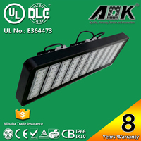 UL DLC cUL TUV GS CE RoSH SAA 8 years Warranty high/low bay light with 120lm/w