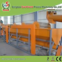 Waste Plastic Abs Washing Recycle Machine New Design Waste Pe Pp Film Crushing