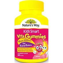 Nature's Way Kids Smart Vita Gummies Multi Vitamin for Fussy Eaters 60 Pastilles (Made in Australia) Essential Minerals