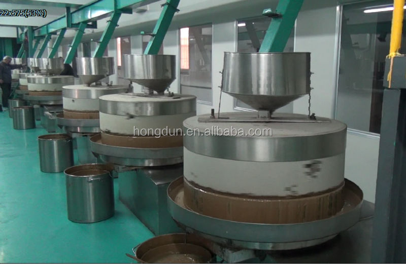 HD sesame paste making machine / peanut butter colloid mill for sale