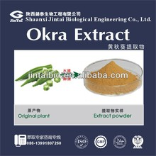 ratio herbal extract 10:1 organic okra powder