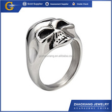 RR0585 14g Surgical steel Evil Eye Logo Tongue Ring