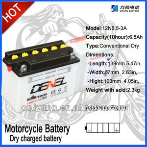 Lead-acid stationary generator battery for CG125 motorcycle use