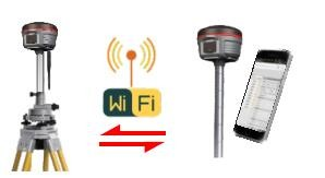 Kolida K5 Plus+ antenna gps rtk high quality gnss receiver Support NFC function connect bluetooth