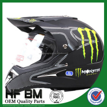 ece motorcross helmet,full face helmet with sticker, with OEM quality