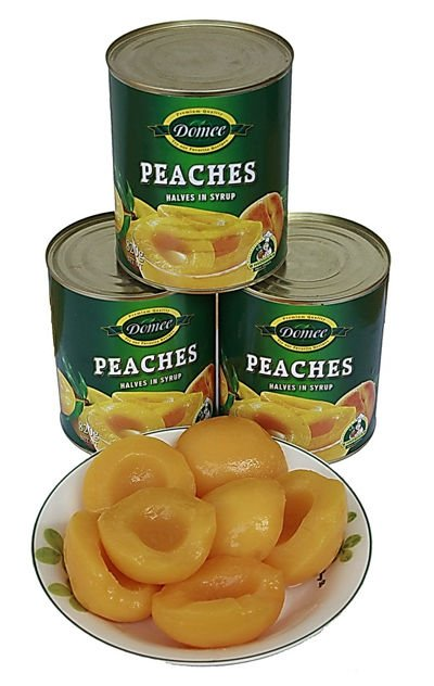 Canned Peach Canned Fruit Canned Food