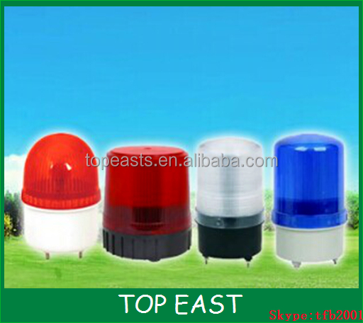 Red Amber Blue Green Color Garage Door Warning Light Dc12v