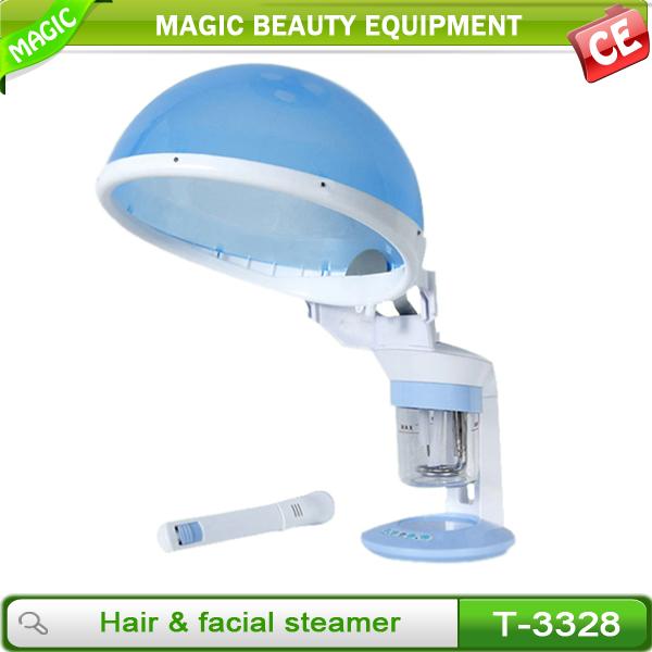2 in 1 facial steamer beauty equipment with ozone for beauty salon or home use