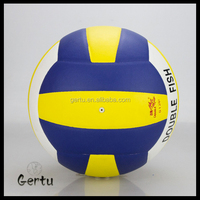 High quality Promotional laminated machine Stitched volleyball