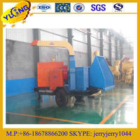 YULONG Mobile Diesel engine tractor PTO wood chipper